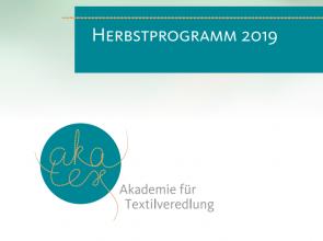 Akatex - Autumn programme with focus on sustainability