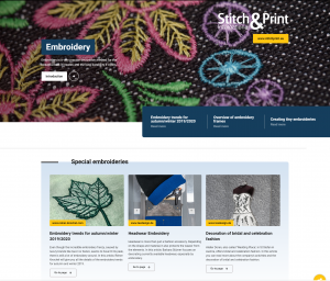 Stitch and print international Digital Magazine embroidery