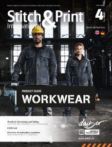 Stich and print international magazine december 2019