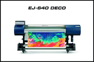 Roland EJ 640 deco printer
