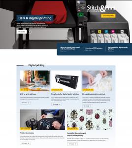 Online Magazine DTG & digital printing