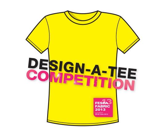 Fespa's t-shirt design competition • Stitch & Print