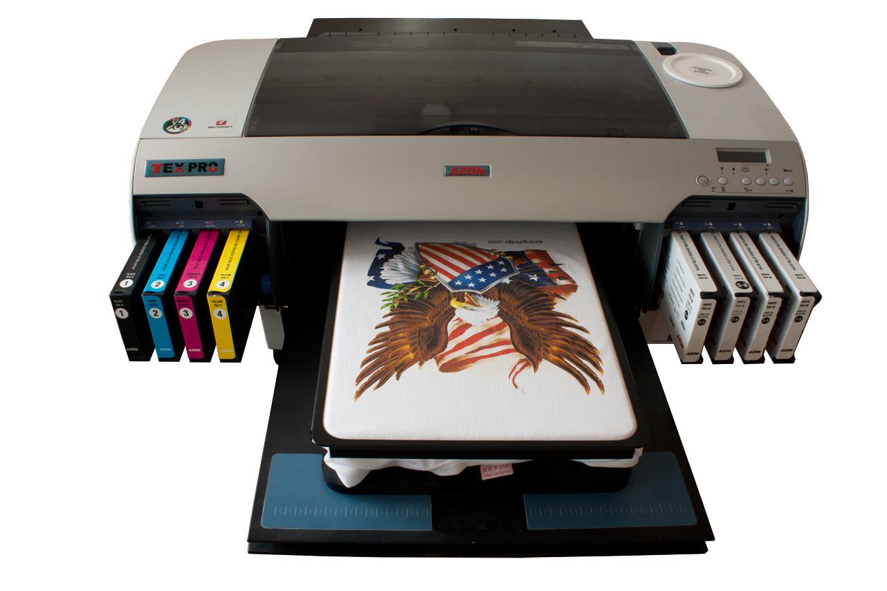 Надписью, как печатают картинки на футболках