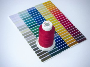 New and wider colour range for polyester embroidery thread Poly 60
